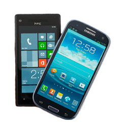 Samsung Galaxy S III vs HTC Windows 8X Review