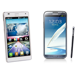 Review LG Optimus 4X HD vs Samsung Galaxy Note II