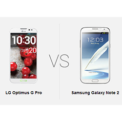 Full review of LG Optimus G Pro vs Galaxy Note 2