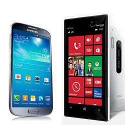 Samsung Galaxy S4 vs Nokia Lumia 928 Review