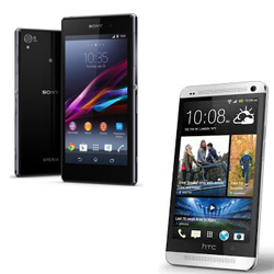 Sony Xperia Z1 vs HTC One  full specs and review
