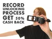 Get 50% Cash Back