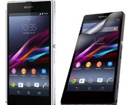 The Sony Xperia Z1 versus little brother Sony Xperia Z1 Compact