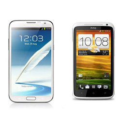 Review: Samsung Galaxy Note II vs HTC One X