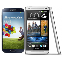 Samsung Galaxy S4 vs HTC One Specs