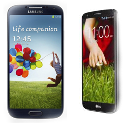 Samsung Galaxy S4 vs LG G2 Review